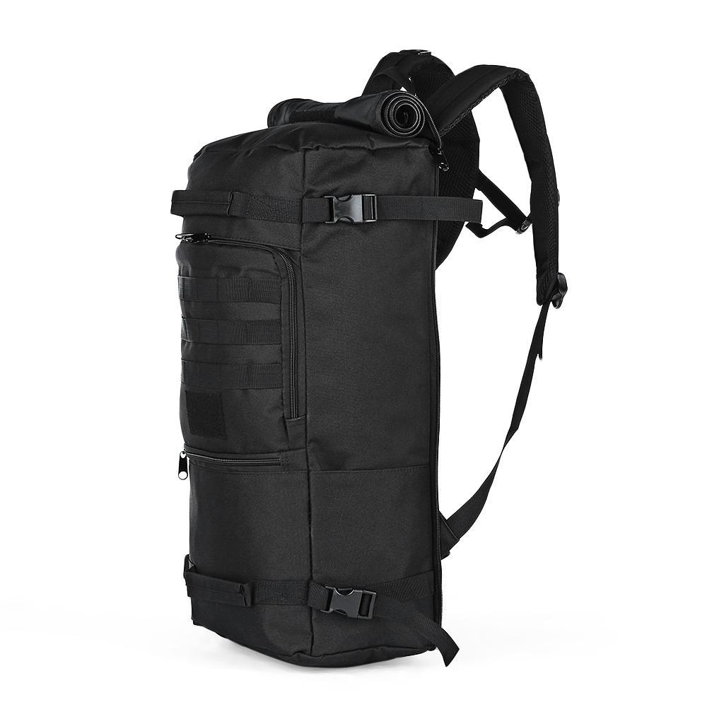 design intemporel 672e8 f64df 60L Outdoor Sac à dos tactique Sac à bandoulière résistant à l eau pour la  randonnée en camping