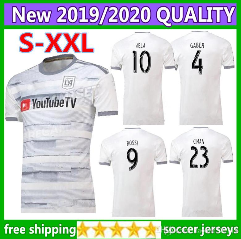 2019 Size S XXL 2019 2020 Los Angeles Fc LAFC Soccer Jerseys 19 20  ZIMMERMAN GABER ROSSI CIMAN VELA FOOTBALL SHIRTS Free Ship From  Haohao201718 fc47a7261