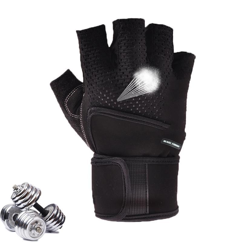 Guantes de Gimnasio Crossfit Gym Gloves for Fitness Men Women Half Finger