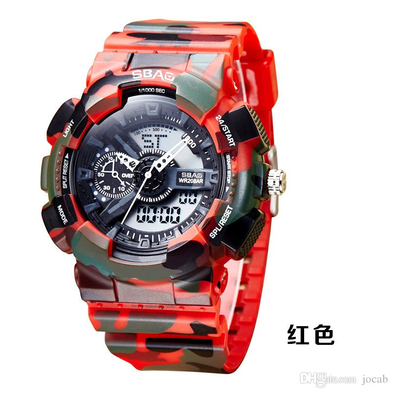 2f03f223 2019 New Top S Shock Military Watches Army Men s Wristwatch LED Quartz  Watch Digtial Dual Time Men Clock reloj hombre Sport Watch Army