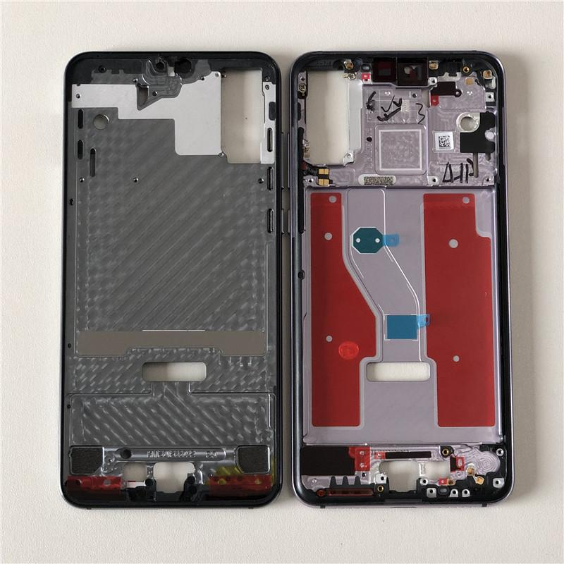 Original M&Sen For 6 1 Huawei P20 Pro Front Bezel Frame Housing/Middle  Bezel Frame With Power Side Bottons For Huawei P20 Pro