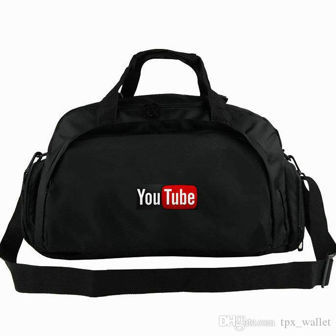 9acb9db3fb0 YouTube Duffel Bag Broadcast Yourself Tote You Tube Backpack Company ...