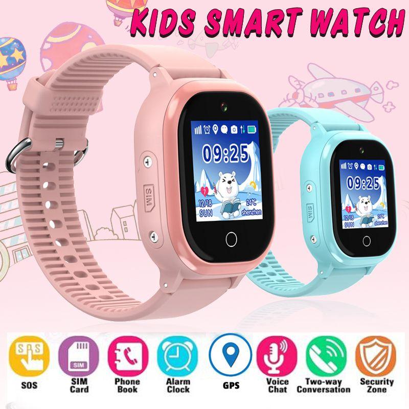 78cf301f8eaf Ofertas De Telefonia C1 GPS IP67 Impermeable Niños Reloj Inteligente Niños  Bebé Smartwatch 1.3 Pulgadas Color Pantalla Táctil SOS Bebé Reloj  Inteligente ...