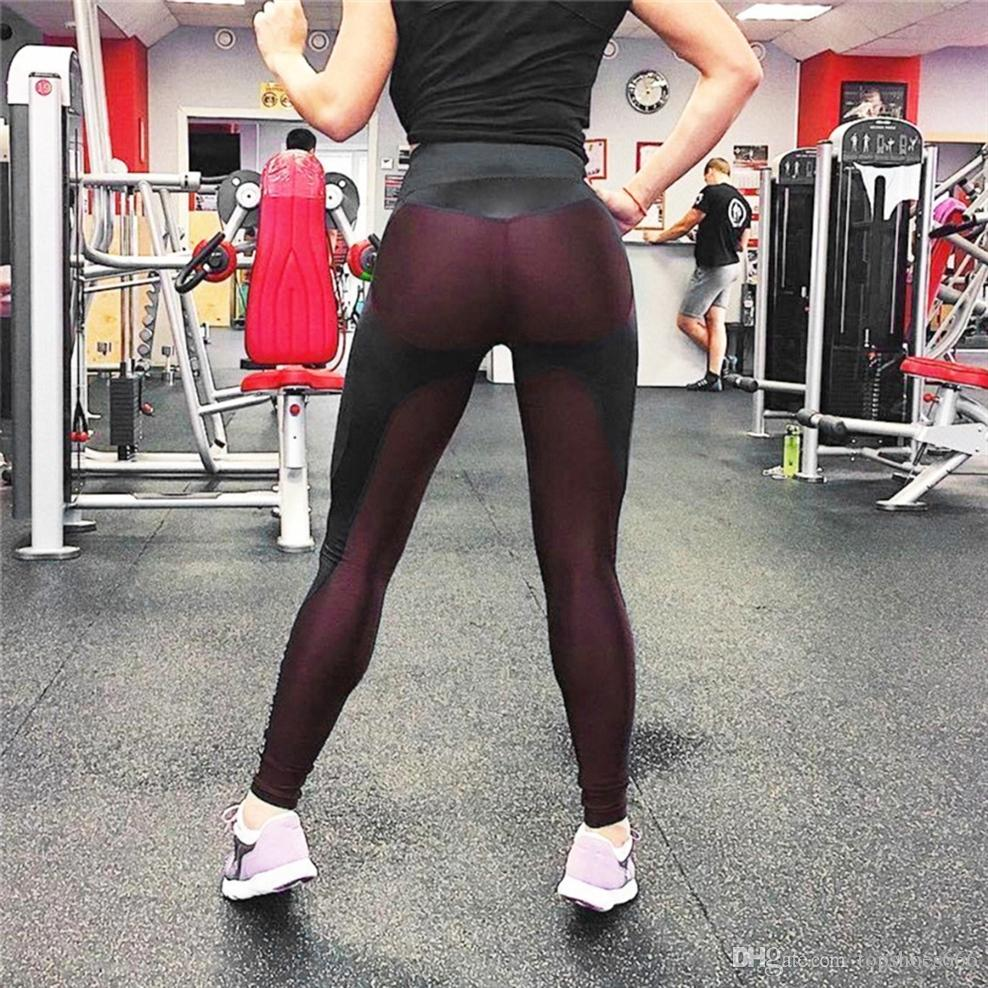 05cc2ed9f790e 2019 New Women Leggings Fitness Adventure Time Patchwork Thick Legging High  Elastic Workout Leggings Sporting Pants #297616 From Topshoes666, ...