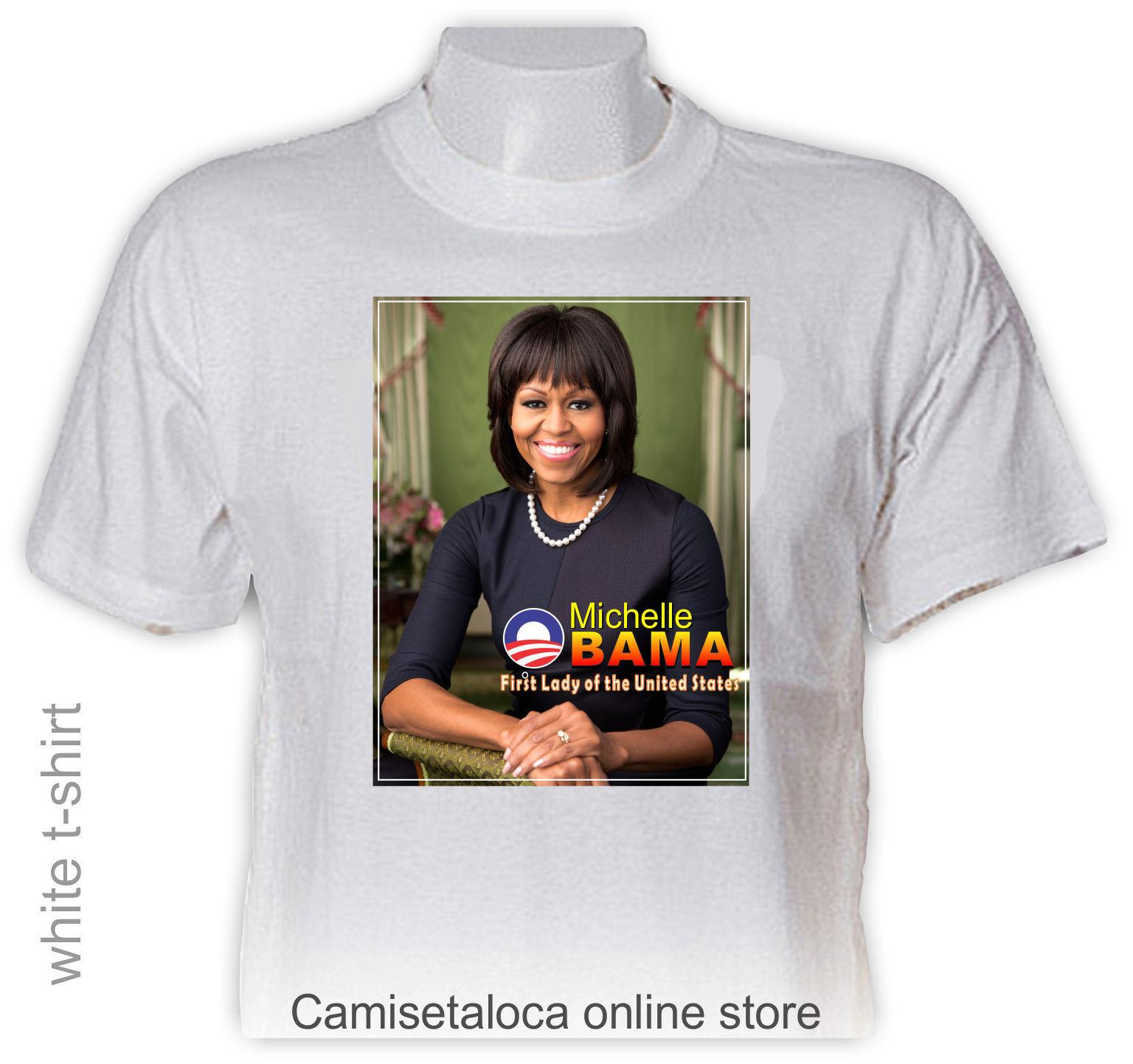 922a3c2a Michelle Obama T Shirt First Lady Of The United Special Edition Gree Tshirt  Colour Jersey Print T Shirt Shop Online T Shirts T Shirt From Happycup, ...