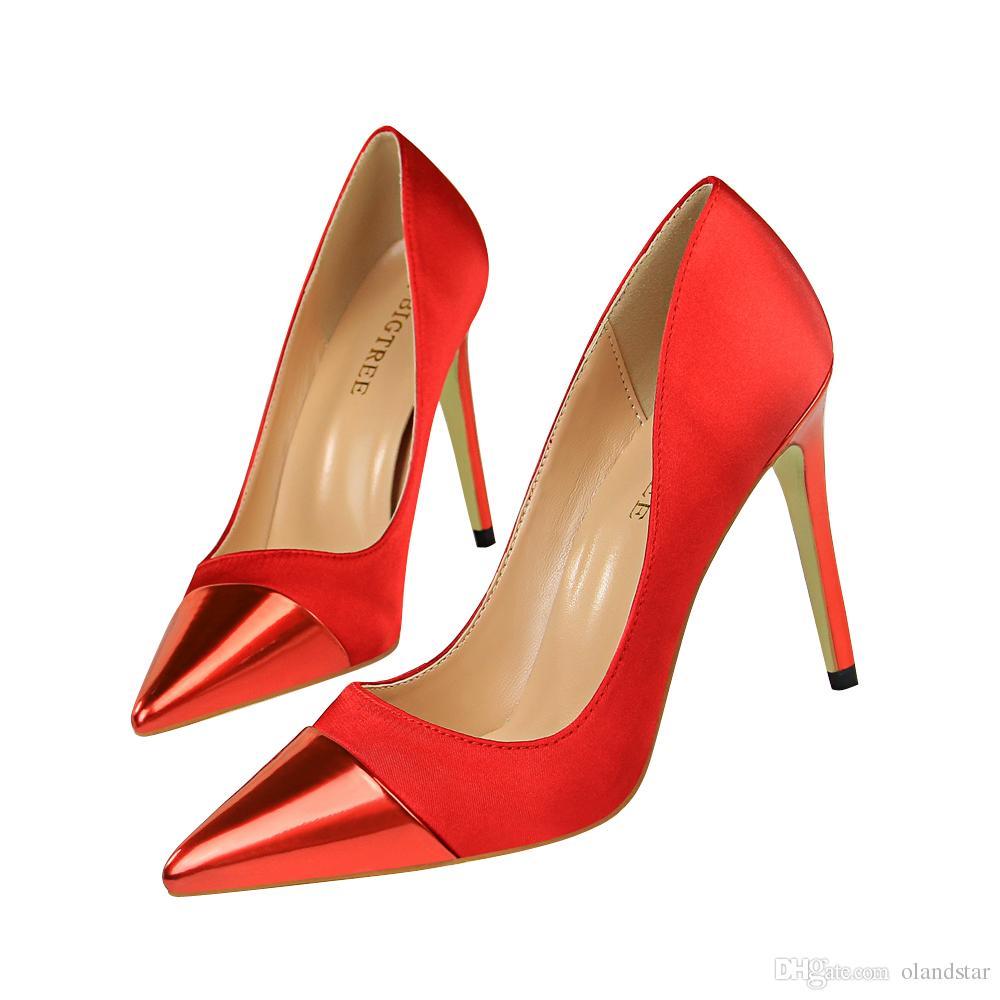 30fbf60e1787 Sexy Lady Dress Shoes Women Heels Pumps High Heels Festival Party Wedding  Shoes Stiletto Formal Pumps Business Shoes GWS602 Stacy Adams Shoes Purple  Shoes ...