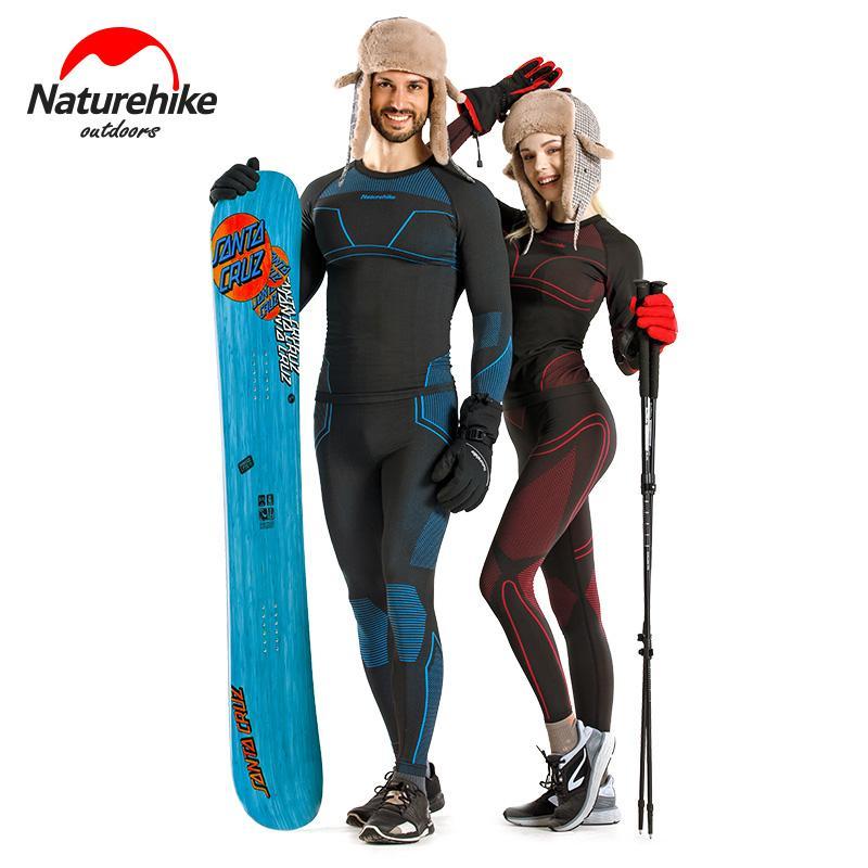 eadac81749a Naturehike Women s Ultra Soft Thermal Underwear Long Johns Set Fleece Lined  Winter Base Layering Set Skiing Underwear Set Cheap Skiing Underwear Set ...