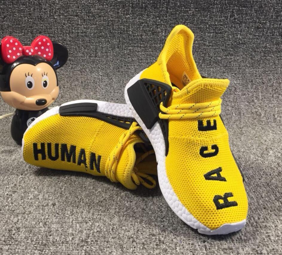 02b03ce298760 2019 Kids NMD Human Race Trail Running Shoes Children Pharrell ...