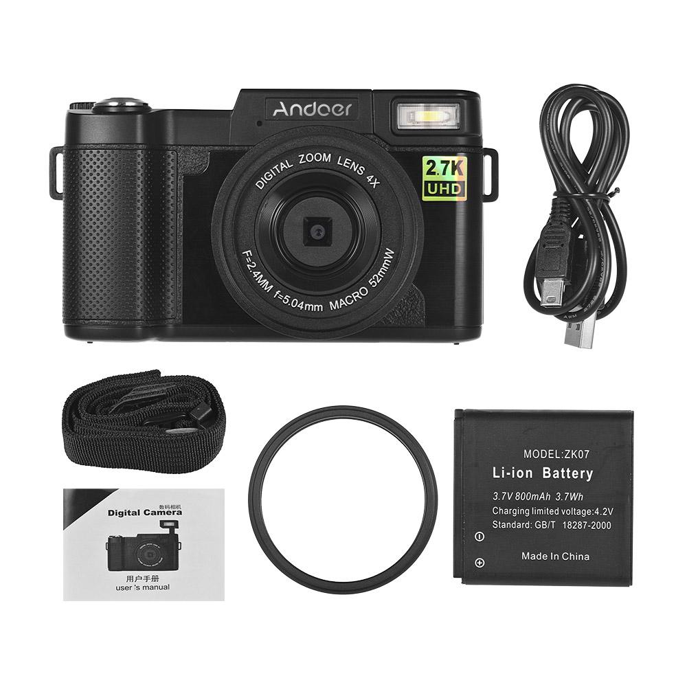 93a8e9b9f Compre Andoer Full HD 24MP Câmera Digital Filmadora TFT Anti Shake 4X Zoom  Digital Conexão Wi Fi Retrátil De Springshowers, $103.27 | Pt.Dhgate.Com