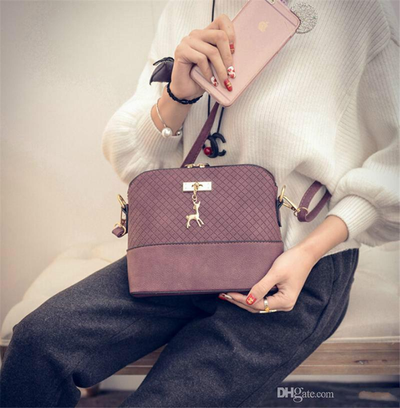 Shoulder Crossbody Bags For Women Leather Luxury Handbags Women Messenger Bags Designer Famous 2018 Vintage Sac a Main w088