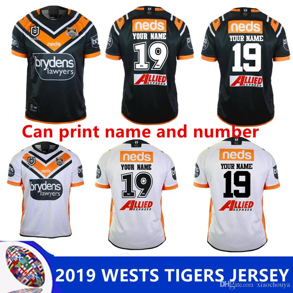 2019 NRL RUGBY JERSEY 2019 WESTS TIGERS HOME JERSEY NRL National ... 36e76c758