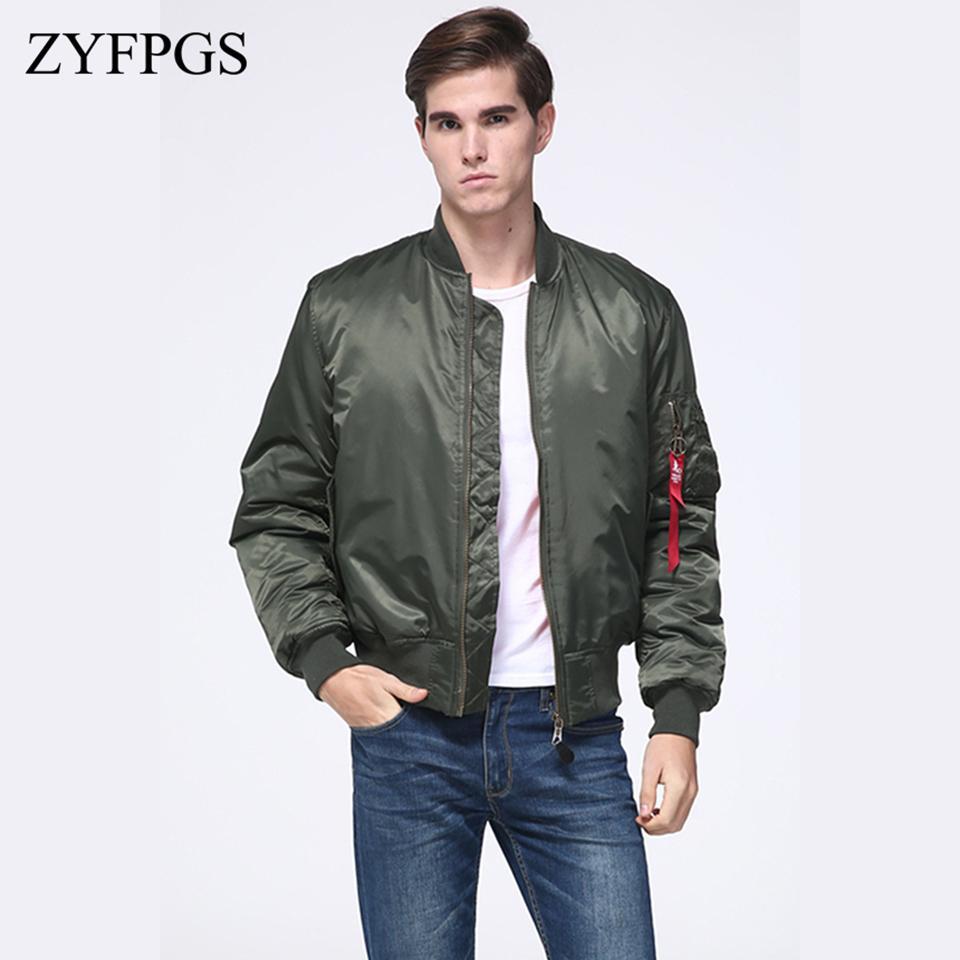 f9be3efce659 Acquista ZYFPGS 2019 Classic Giacche Da Uomo Mantenere Caldo Maschio Breve  Patch Coat Moda Inverno Fitness Giacca Solida Vendite Street Trend Z1222 A   82.61 ...