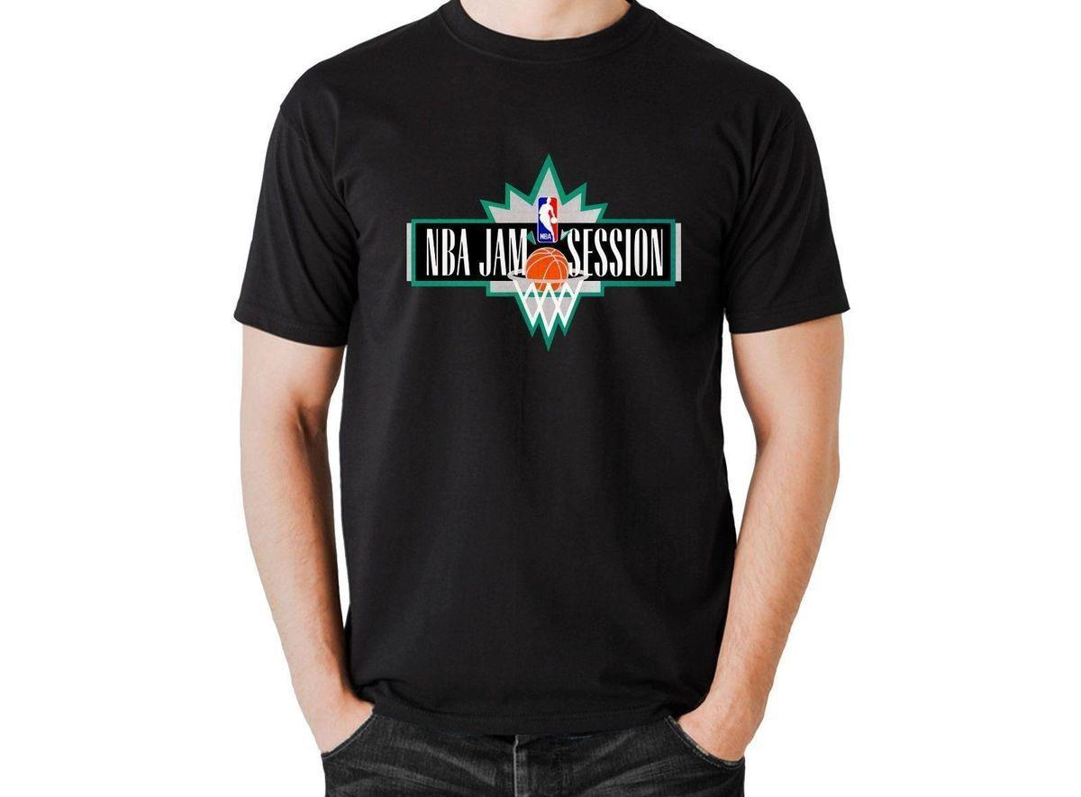 Jam Session Vintage 90s Classic Basketballer T Shirt Short Sleeve T