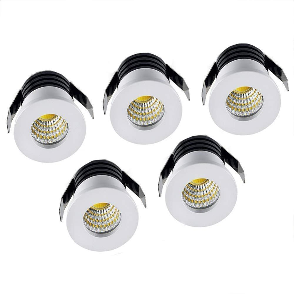 1w Mini Led Spot Light With Driver Cabinet Lamps 110v 220v Quality Aluminum Spotlight Lighting Yellow Warm White Blue Back To Search Resultslights & Lighting