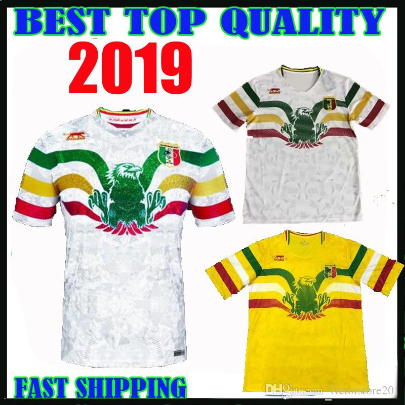 e06e73c6a97 2019 2019 2020 Mali Home Soccer Jersey Concept Football Shirt Les Aigles Du  Mali Can 19 20 Maillot Domicile Top Thailand Quality Customize From ...