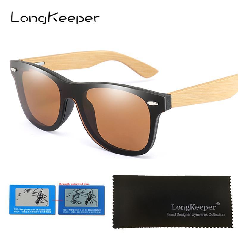 Pieza Compre Una Bambú Polarizado De Gafas Sol Conducción mNv8n0w