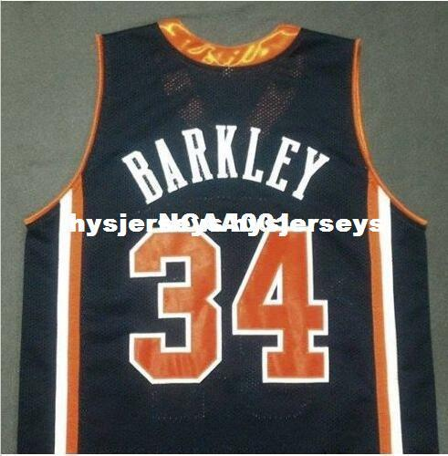 2019 Cheap Men Blue White  34 CHARLES BARKLEY Auburn Tigers College Jersey  Size XS 6XL Or Custom Any Name Or Number Jersey NCAA From Hysjerseys d0ac1e403