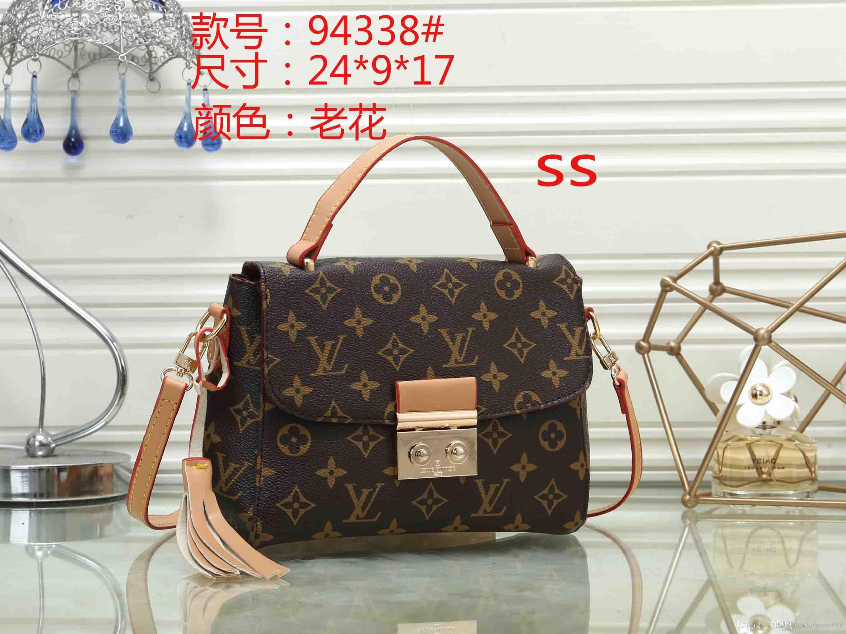 WWW 94338 Best price High Quality women Ladies Single handbag tote Shoulder backpack bag purse wallet