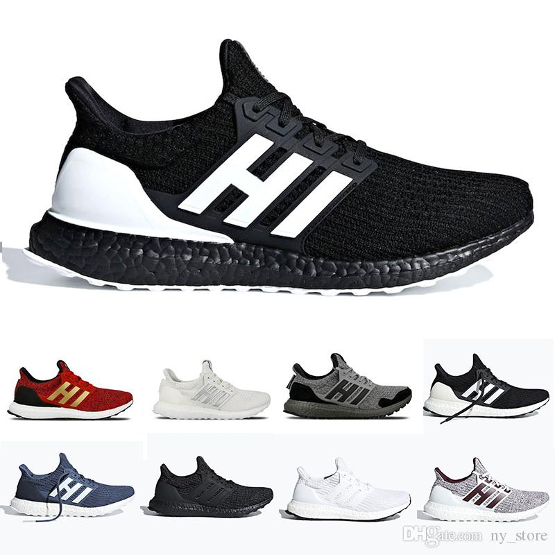Newest Game of Thrones Ultra boost 4.0 Ultraboost mens Running shoes Orca White Burgundy Primeknit sports trainers men women sneakers 36 45