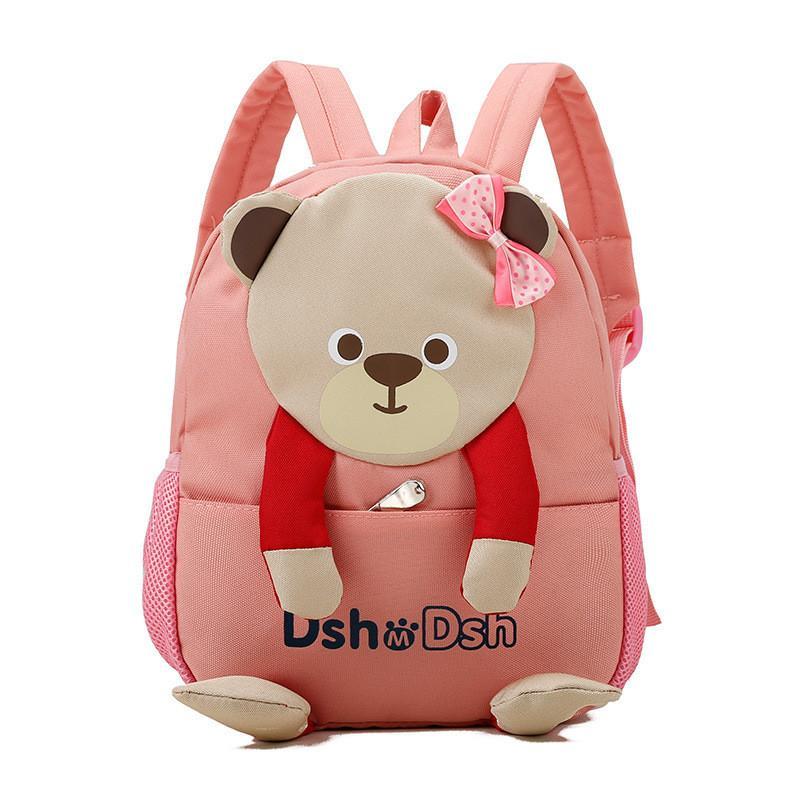 309ecc827f Fashion Lovely Cloth Bear Creative Doll Children Backpack Waterproof  Kindergarten School Bags Boys Girls Satchel Mochila Bookbag Toddler Backpack  From ...