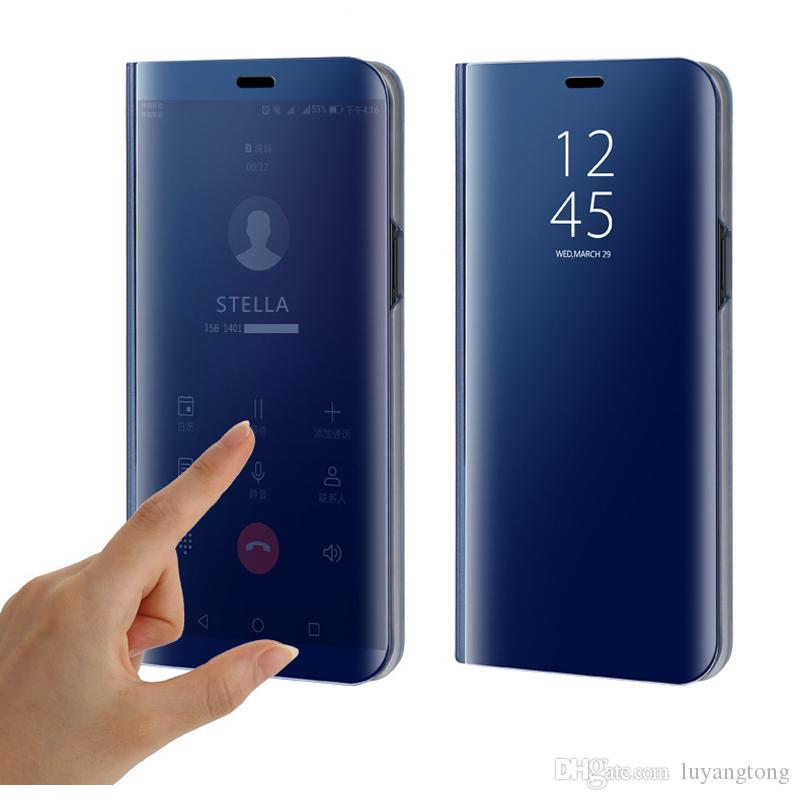 size 40 1f3a7 62b2d Casing Redmi Note 5A Case Smart Mirror View Flip Cover For Xiaomi Redmi  Note 5 Pro Case Stand Leather Cover Redmi Note5 pro