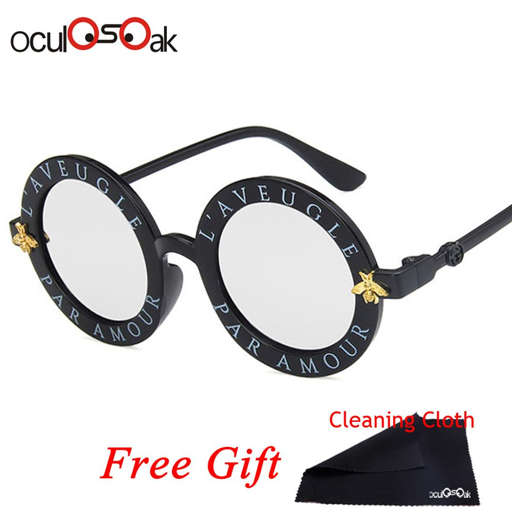 88ca2f765cb2 New Steampunk Bee Kids Sunglasses Boys Girls Luxury Vintage Children ...