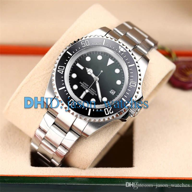 montre de luxe 126660 126603 Ceramic Bezel Mens Watches Mechanical Automatic 8215 Movement watch man D-Blue Dial Luxury Watch With box R157