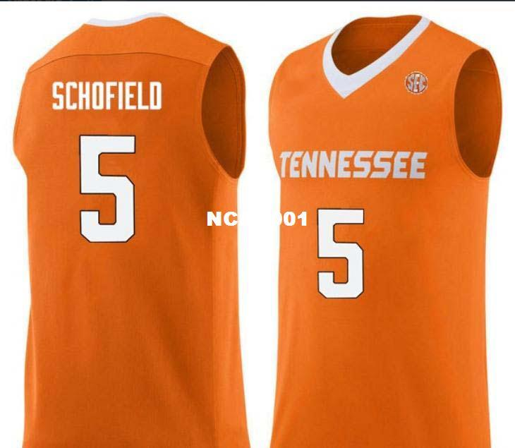2bdbb9d84f9 2019 Men Tennessee Vols Admiral Schofield #5 College Real Embroidery Jersey  Size S 4XL Or Custom Any Name Or Number Jersey From Ncaa001, $15.95 |  DHgate.Com