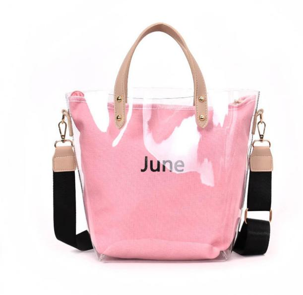 Women Transparent Clear Bag Summer Messenger Bags PV Jelly Candy Tote Hot  Sale Designer Shoulder Bags Female Lady Handbag Z03 Leather Handbag Red  Handbags ... 59e877226d1de