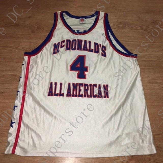 efb1d6c6257f 2019 Cheap Custom Chauncey Billups McDonalds All American Basketball Jersey  Stitched Customize Any Name Number MEN WOMEN YOUTH JERSEY XS 5XL From ...