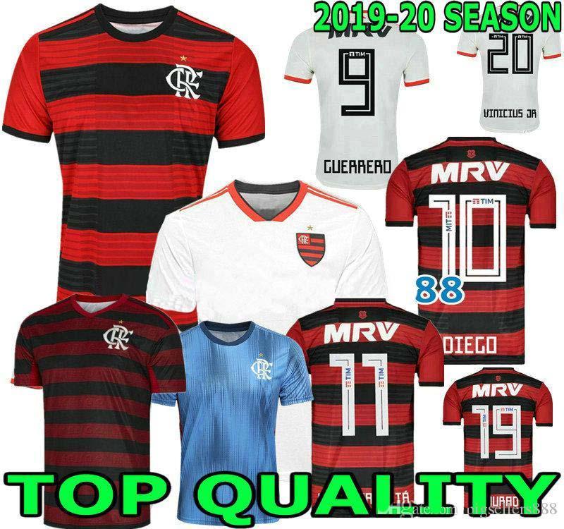 c92d40e34e1 Camisa Flamengo Jersey 2019 2020 Chandal Flamengo Jersey 19 20 Brasil  Flemish Away Home ELANO HERNANE Soccer Jerseys Sports Shirt WOMEN Australia  2019 From ...