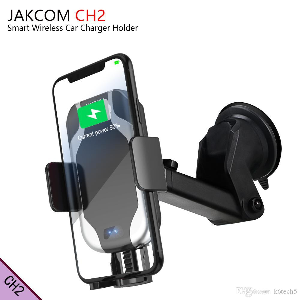 JAKCOM CH2 Smart Wireless Car Charger Mount Holder Hot Sale in Cell Phone Mounts Holders as ego woodwool smart watch for kids