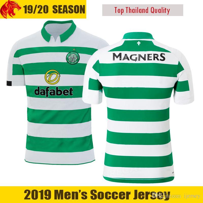 9101e004c 2019 19 20 Celtic Soccer Jerseys SINCLAIR 2019 New Mens Home Shirt EDOUARD Football  Shirt FORREST Soccer Shirt Celtic CHRISTIE Football Jersey From Ijersey