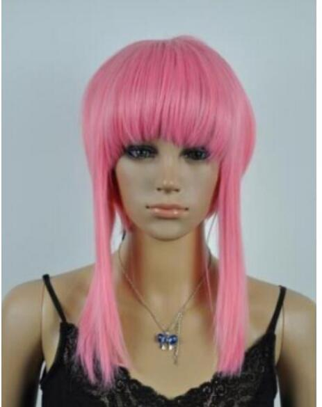 Hot Fashion Women Lady Girl Cosplay Wig Women S Wigs Pink Wigs Wigs To Buy  Wigs Cheap From Dingyingying68687 17361f58df