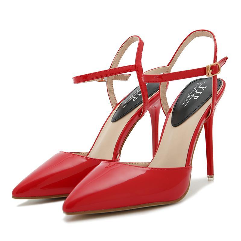 8f215b5a1f36 Designer Dress Shoes Nis Women Slingbacks Thin High Heel