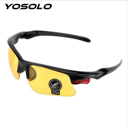 84fddf86a9 2019 New Fashion Protective Gears Sunglasses Night Vision Drivers Goggles  Driving Glasses Anti Glare Night Vision Glasses Polarized Sunglasses  Sunglasses ...