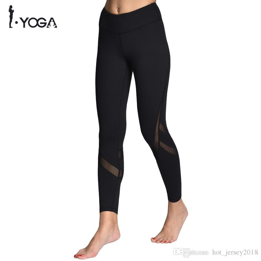 f109d9f16f 2019 Sportswear Mesh Yoga Pants Fitness Yoga Leggings Push Up Running Sport  Tights Women Workout Clothing Activewear For Women #134984 From  Hot_jersey2018, ...