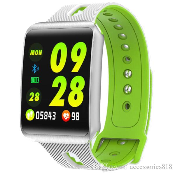 Smart watch GT98 1.3 inch color screen Bluetooth sleep heart rate blood pressure health monitoring step sports smart bracelet