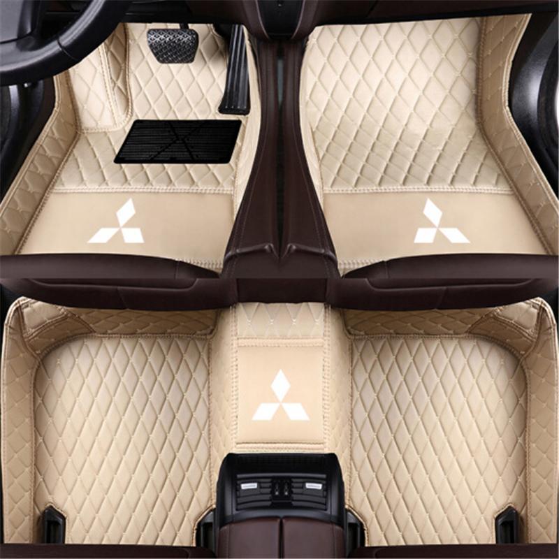 Applicable Mitsubishi Pajero V97 2007-2012 Car anti-slip interior mat  environmentally friendly tasteless non-toxic mat