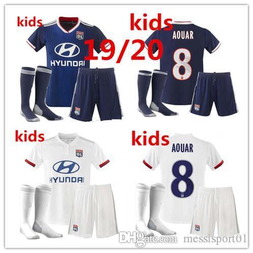 d5cb3e7b2c3 2019 19 20 Maillot De Foot Olympique Lyonnais Soccer Jerseys KIDS ...