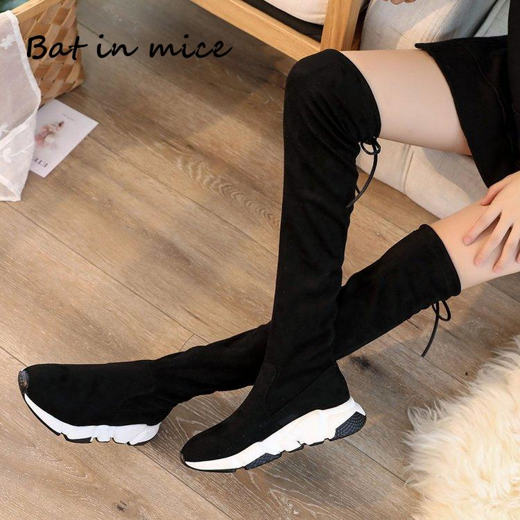 2019 2018 New Winter Fashion Women Over The Knee Boots Casual Sexy