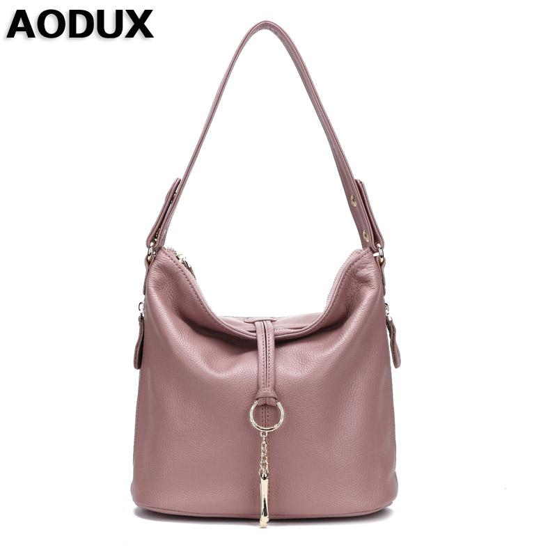 100% Genuine Leather Small Women's Shoulder Bags Female Small Handbag Ladies' Cross Body Messenger White Beige BagMX190824
