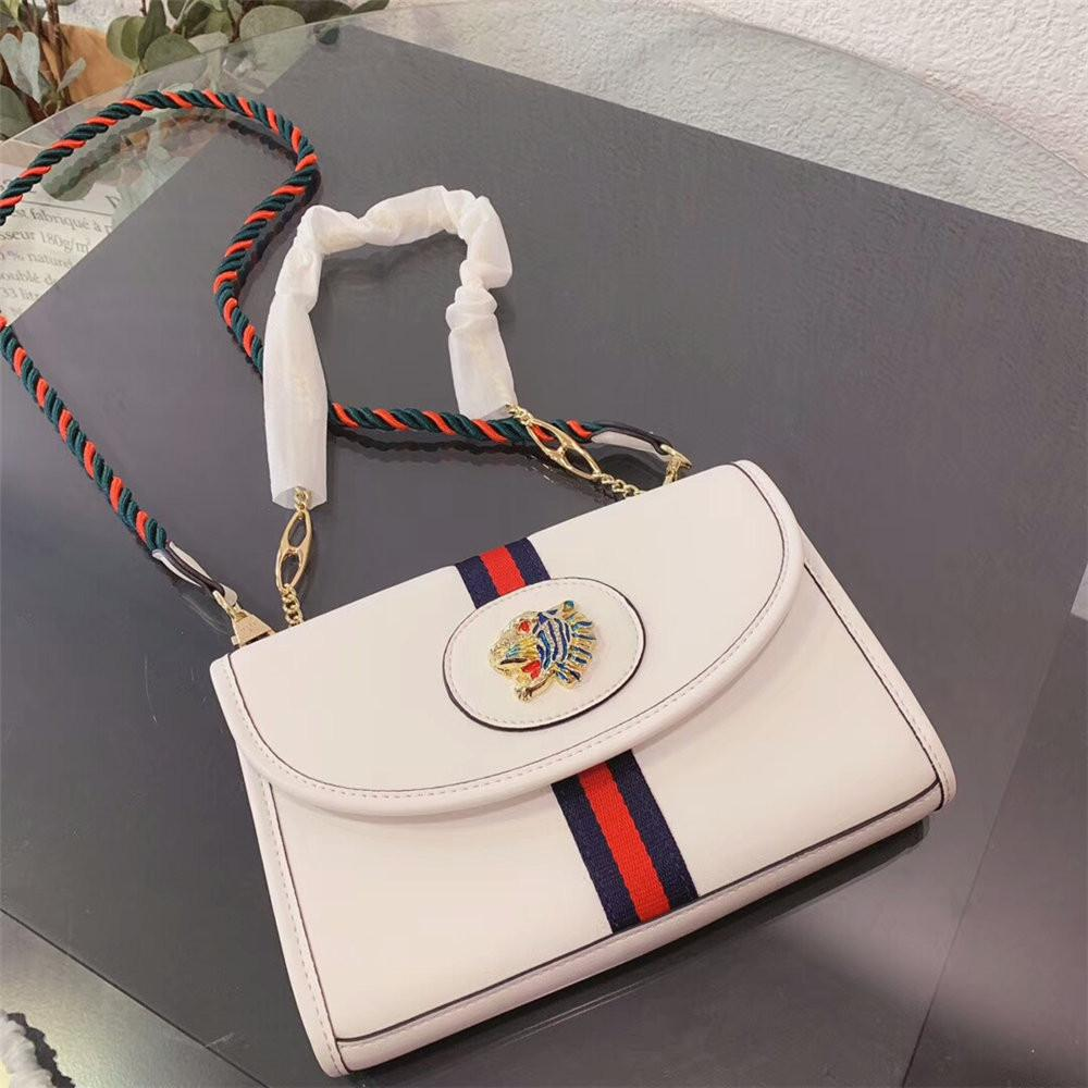 Newest Woman Handbag Single Shoulder Messenger Bag Leather Crossbody Small Square Totes With Metal Head Decoration Luxury