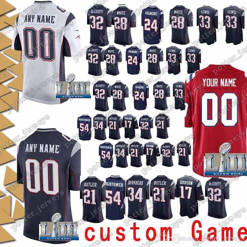 the latest c7fbb 7b206 New Patriot Jersey 35 Mike Gillislee 28 James White 23 Patrick Chung 15  Chris Hogan 80 Danny Amendola 33 Dion Lewis Jerseys