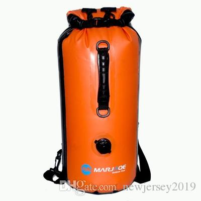 2019 Outdoor Sports 30L PVC Shoulder Waterproof Portable Bag With Gas  Nozzle Inflatable Double Dry Waterproof Upstream Package  226113 From  Newjersey2019 b1de9c850c48c