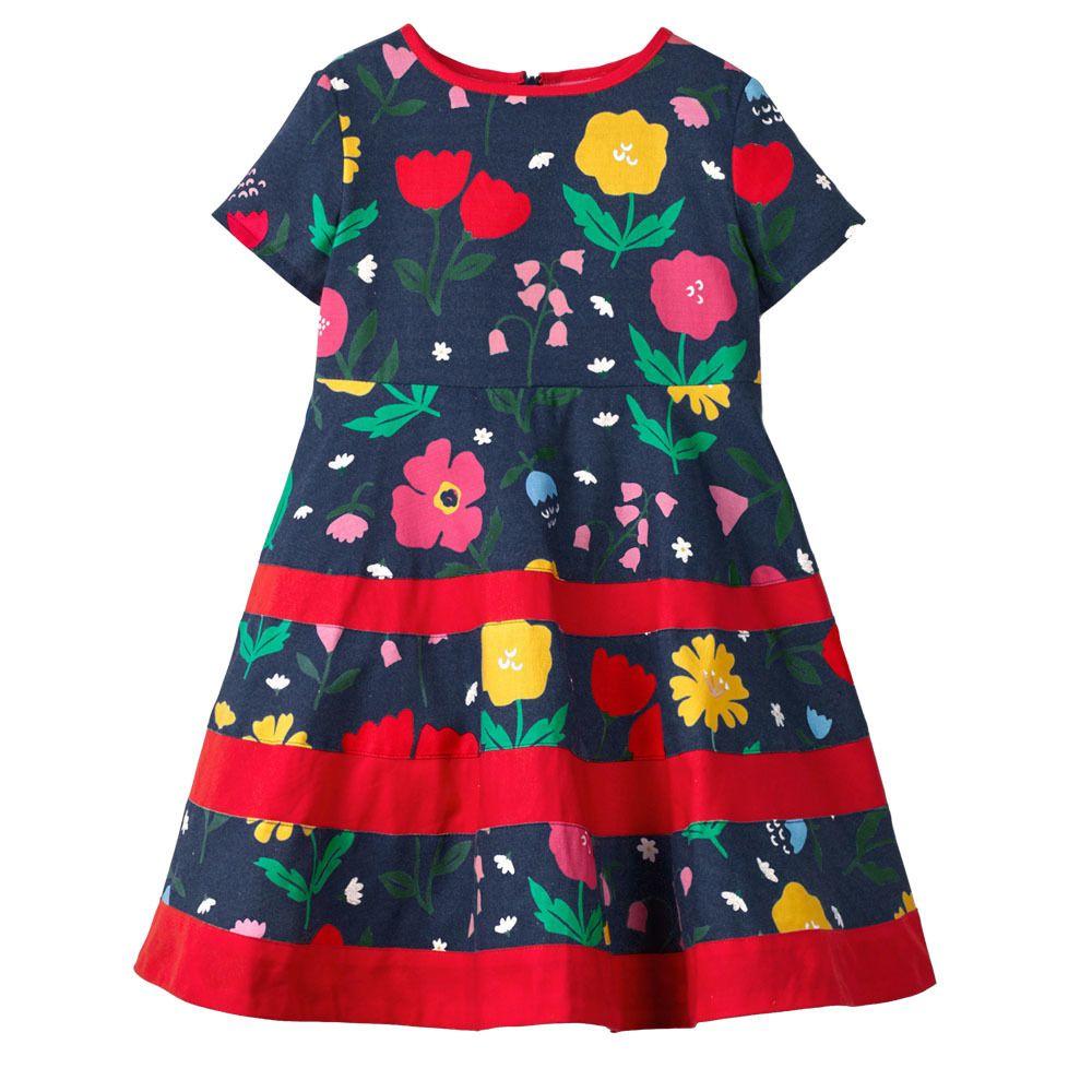 f25ac0faa0c5 2019 Kids Dresses For Girls Costume Princess Flower Baby Girl Dress ...