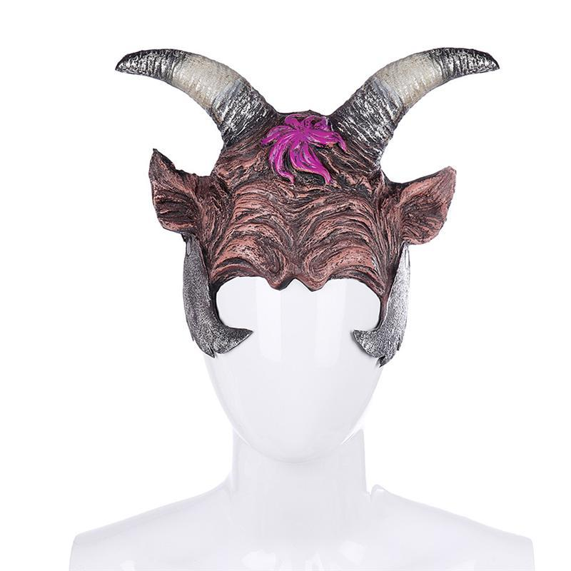 1pc Horned Devil Headwear Halloween Cosplay Costume Prop for Masquerade Carnival Halloween Party Masks Costume Party