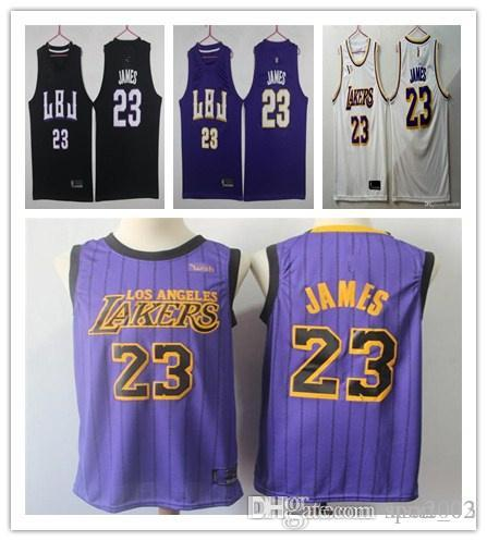 23 LeBron James New 2 Lonzo Ball 0 Kyle Kuzma 14 Brandon Ingram 2019 James  Jersey Basketball Jerseys 77 08 Online with  26.87 Piece on Sport 02 s Store  ... 39e67dbf5