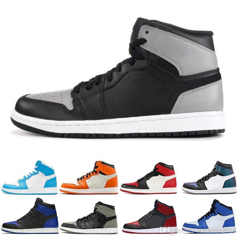 huge selection of 55854 5e5c6 Nike Air Jordan 1 1s 2019 Limited 1 1s Zapatos De Baloncesto Para Hombre  Fragmento New Love Black Toe Gold Top 3 Pine Green Shadow Camo Chicago  Zapatillas ...
