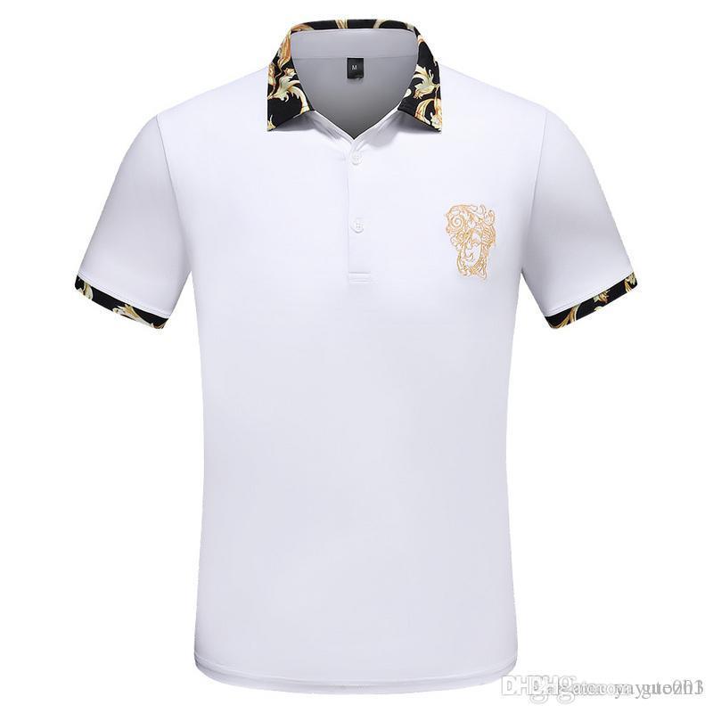 b27fa2fd guozh High summer Polo shirt golf high quality cotton brand Polos men short  sleeve sports polo men short sleeve POLO shirt S-3XL